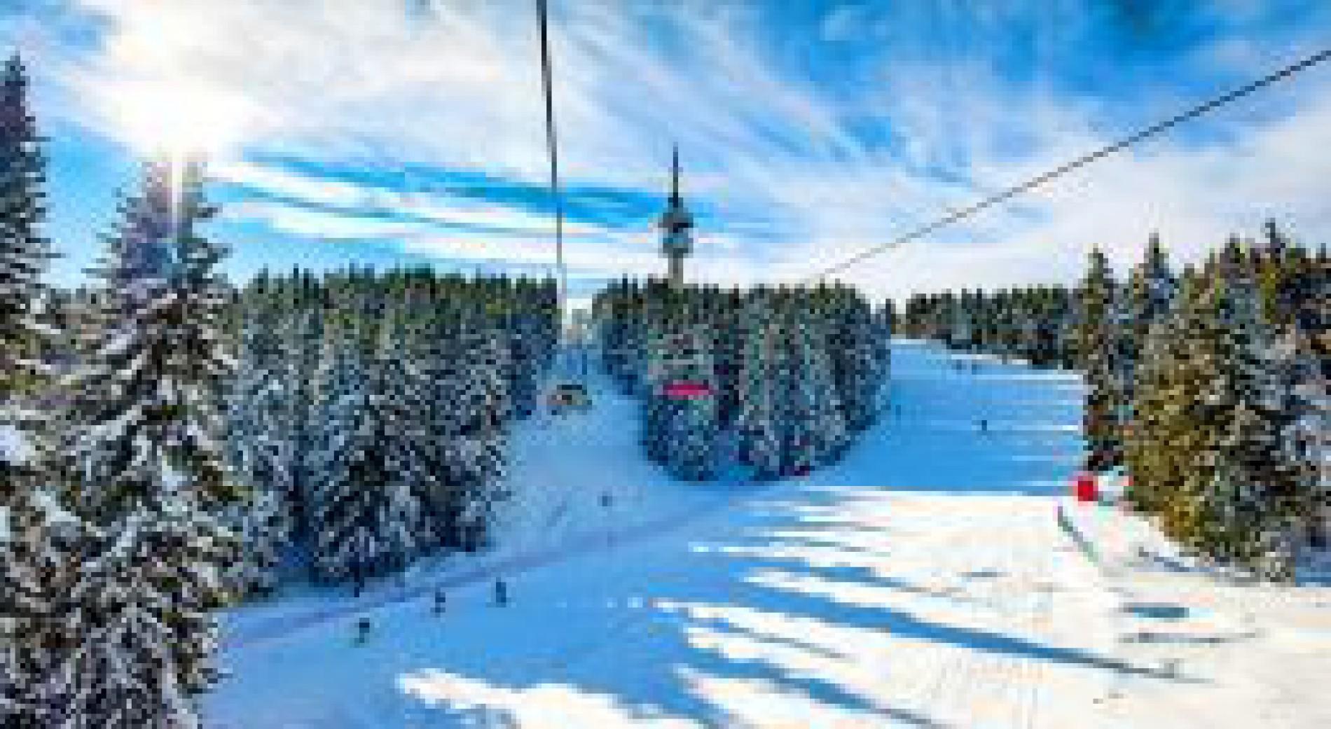 The winter resorts of Bulgaria